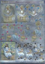 Dufex - 3D Decoupage - Die Cut - Paintbox Poppets No. 5