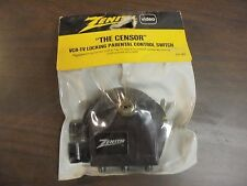 "Zenith Video ""The Censor""  VHR-TV Locking Parental Control Switch"
