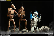 Sideshow 1/6 INFANTRY BATTLE DROIDS Star Wars Hot Toys /Darth Vader Stormtrooper