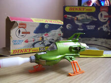 Oridgeinal Dinky 351 UFO Interceptor and Worn Packing Die Cast