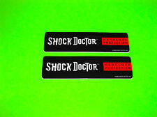 SHOCK DOCTOR MOUTHGUARDS CUPS TAPE COMPRESSION WRAPS INSOLES DECALS STICKERS #1