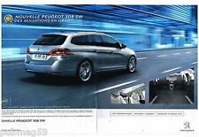 Publicité Advertising 2014 (2 pages) Nouvelle Peugeot 308 SW