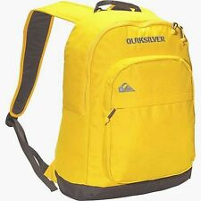 ~~~NEW~~~ QUIKSILVER MENS BOYS DART BACKPACK YELLOW & GREY