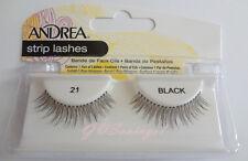 NIB~ Andrea Modlash #21 False Eyelashes Fake Lashes Lash Black  Eyelash Falsies