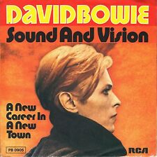 "7"" David Bowie – Sound And Vision // Germany 1977"