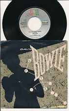 "DAVID BOWIE 45 TOURS 7""ITALY LET'S DANCE"