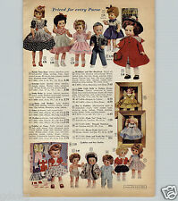 1959 PAPER AD Ideal Miss Toni Revlon Doll Dolls Fashion Model Madeline