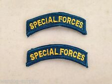 Lot of 2 U.S Army Uniform Special Forces SF Tab Patch Green Beret Class A USGI
