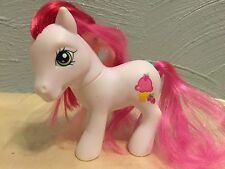2007 MY LITTLE PONY G3 White Scented STRAWBERRY SURPRISE Ice Cream Cone Cutie