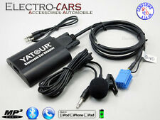 BLUETOOTH INTERFACE AUXILIAIRE MP3 AUTORADIO COMPATIBLE AUDI TT 1999 à 2007