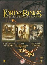 THE LORD OF THE RINGS THE MOTION PICTURE TRILOGY - 3 Disc Set
