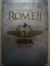 ROME II TOTAL WAR INDIVIDUALLY NUMBERED COLLECTOR'S STEELBOOK G1 + PC game