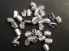 20pz coprinodo terminale 10x8mm nikel free colore argento