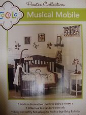 COCALO~PEWTER COLLECTION~12 PIECE INFANT CRIB BEDDING SET ~NEW