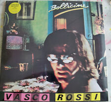 "VASCO ROSSI ""BOLLICINE"" LTD LP VINILE COLORATO GIALLO N.15 /600 MINT SEALED"