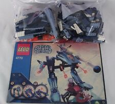 LEGO Alpha Team Mission Deep Freeze 4770 Instructions 2 Minifig No Box Incomplet