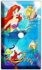 LITTLE MERMAID PRINCESS ARIEL VIDEO CABLE WALL COVER PLATE GIRLS BEDROOM DECOR