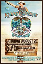 """KENNY CHESNEY """"SPREAD THE LOVE TOUR 2016"""" NEW YORK POSTER -Country Music Legend!"""