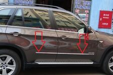 Stainless Steel Chrome Body Trim Door Side Cover Trim for BMW X5 E70  2008-2013