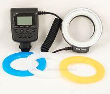 RF550E Macro 48 pcs LED Ring Flash Light for SONY A900 A850 A57 A77 A65 A37 NEX7