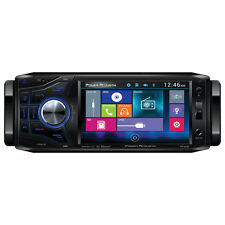 "Power Acoustik PD454B Single Din AM/FM/DVD & Bluetooth 4.5"" Detachable Car Radio"