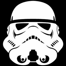 Star Wars Stormtrooper Helmet, Van, Laptop, Scooter Vinyl Decal Sticker