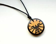 Aviation Attitude Indicator Necklace Mens Unisex Pendant Aeroplane Pilot Gifts