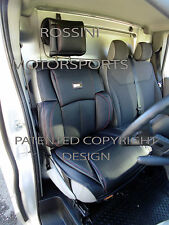 TO FIT A RENAULT TRAFIC VAN 2016, SEAT COVER, ROSSINI MOTORSPORTS BLACK YS 01