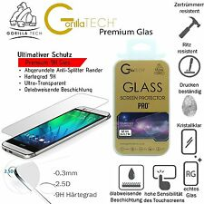 2X Genuine Gorilla Tempered Glass Film Screen HD Protector  for HTC One mini 2