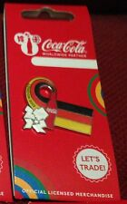 LONDON 2012 OLYMPICS COCA COLA GERMANY FLAG PIN BADGE RIO 2016