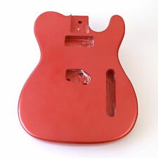 Candy Apple Red (metallic) ash guitar body for Telecaster Tele