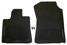 New Oem Factory Genuine All Season Weather Rubber Floor Mats Black Tundra Truck