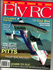 Fly RC Radio Control May 2004 Gee Bee Hovering Machine Vertical Takeoff Turbine