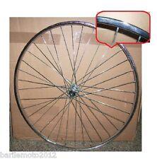 "Ruota / Cerchio Posteriore Bici Sport 28"" x 1.5/8 x 1.3/8 - C / Cambio - ACCIAIO"