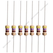 100 X Carbon Film 470 Ohm 1/4W 0.25W 5% Resistor for LED 12V