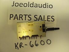Kenwood KR 6600 6060 7600 7060 Acoustic Switch. Parting Out KR 6600