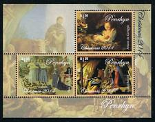 Penrhyn 2014 Christmas Stamp Issue Souvenir Sheet