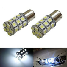 2X 6000K White 27SMD LED Bulbs 1156 1141 1003 RV Camper Trailer Interior Light