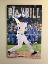 "Dodgers Playbill ""Going Long"" Matt Kemp"