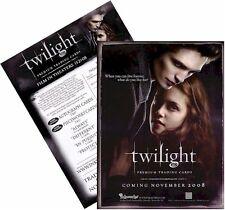 Película Saga Crepúsculo (): hoja De Venta Promocional