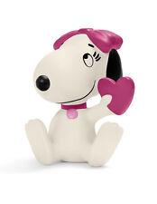Snoopy et les Peanuts figurine Belle avec Coeur 6 cm Schleich 22030