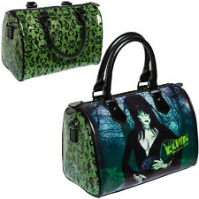 New KREEPSVILLE 666 Elvira Glitter Green Purse Bag Gothic Punk Emo Fashions