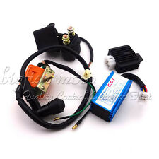 ATV 50 70 90 110cc Racing Ignition Coil CDI Regulator Rectifier Solenoid Relay