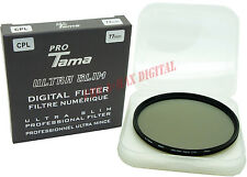 ProTama 77mm Ultra Slim CPL Cir-PL Circular Polarizing Polarizer Digital Filter