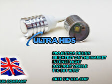 2X W5W T10 501 CREE LED HIGH POWER USA CHIP 5W 6000K WHITE BRIGHTEST AVAILABLE *