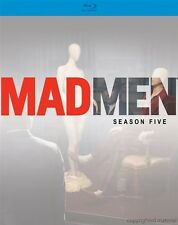 MAD MEN: SEASON 5*****BLU-RAY******REGION FREE******NEW & SEALED