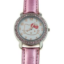 Reloj HELLO KITTY  watch Rosa y brillantes Precioso  A1122