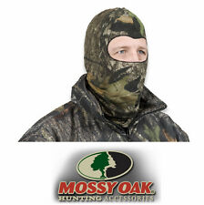 Mossy Oak Full Face Mask - Obsession Camo - Streach Form Comfort Headnet