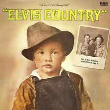 CD Elvis PRESLEY Elvis Country (1971) - Mini LP REPLICA - 12-track CARD SLEEVE