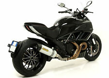 SILENCIEUX ARROW ALU DUCATI DIAVEL 2011/16 - 71451MI+71768AK
